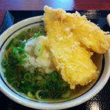 丸亀製麺の黄金カレイ天茶漬け