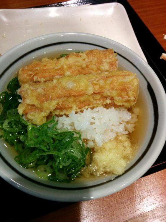 丸亀製麺のお茶漬け