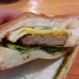 コメダのハンバーガー