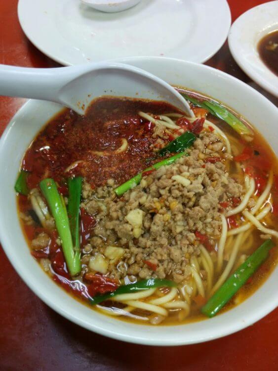味仙の『イタリアン』台湾ラーメンは辛うまい