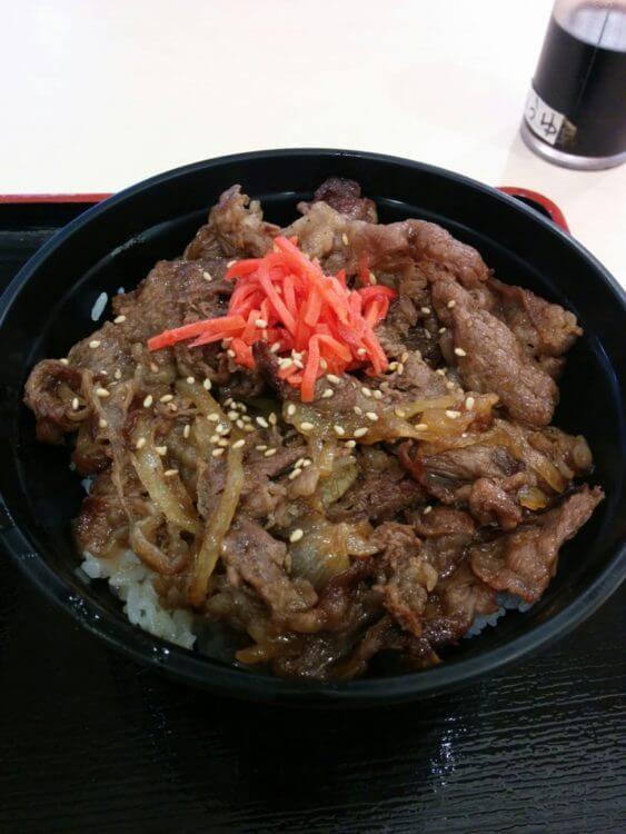 名阪関ドライブインの「松阪牛丼」