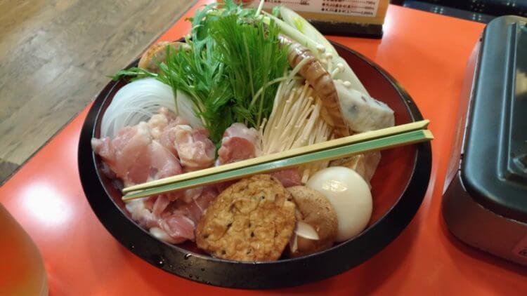 川福本店のうどんすき鍋
